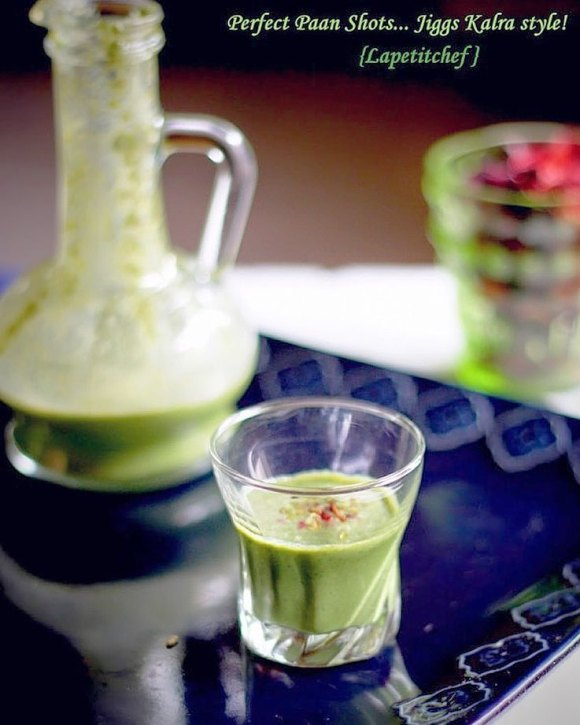 paan shots Lapetitchef
