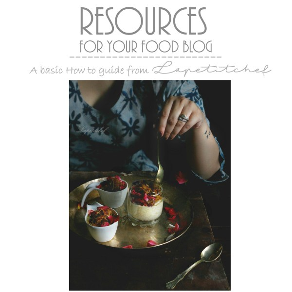 resources for your food blog