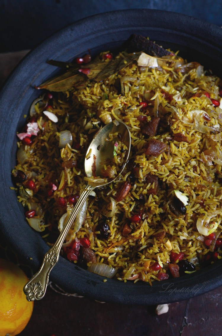 Organic Persian jeweled rice