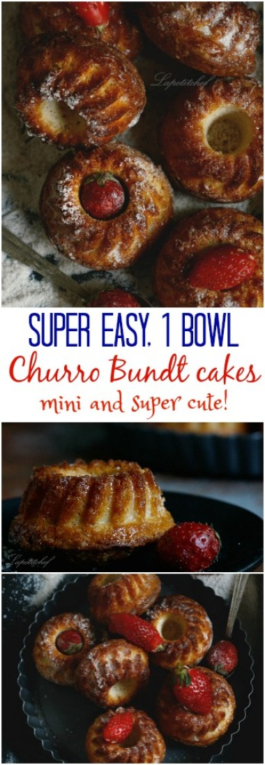 churro mini bundt cakes7