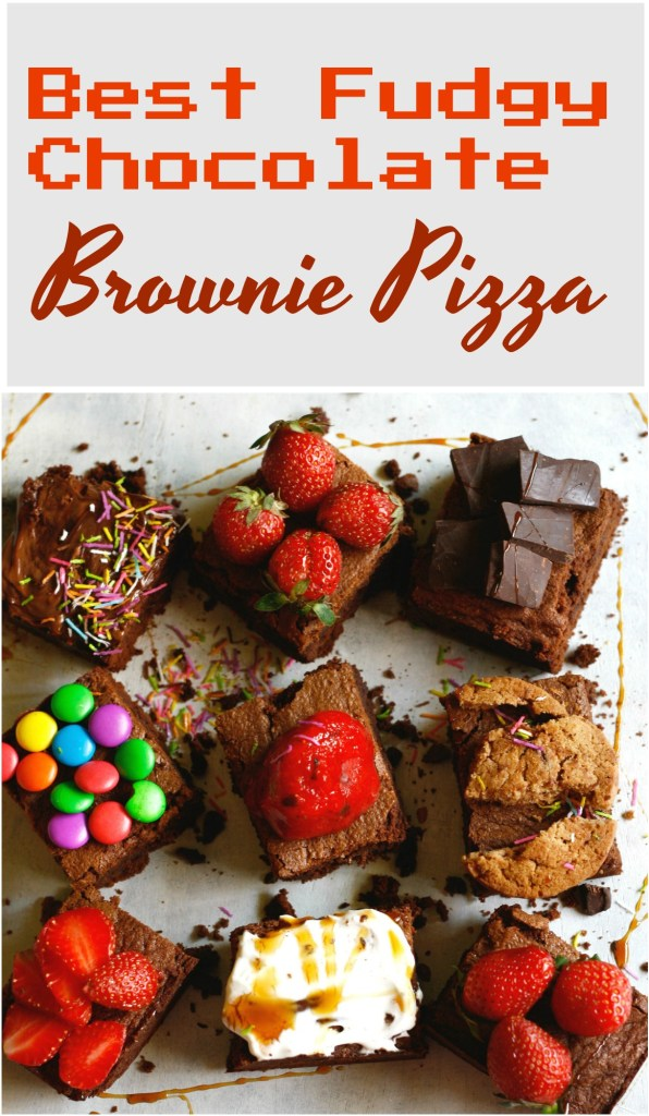 fudgy chocolate brownies three ways