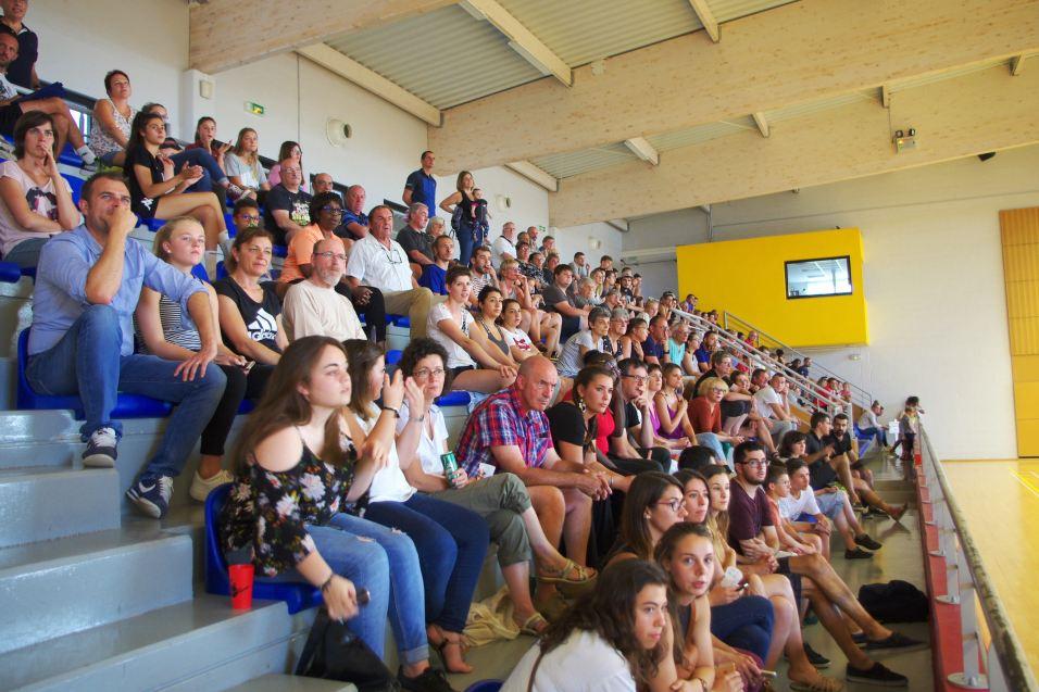 Le public était au rendez-vous pour cette belle opposition entre Besançon et Toulon Saint-Cyr.