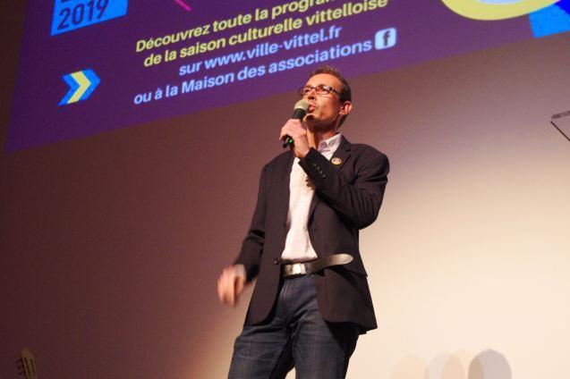 Michael Scherer, directeur du service culturel et des animations de la ville de Vittel.