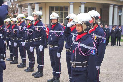 Promu au grade de caporal-chef, Stéphanie Thomas (CIS Remoncourt).