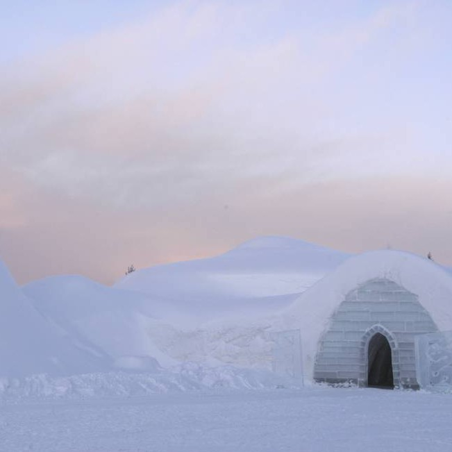Snow Village Igloo