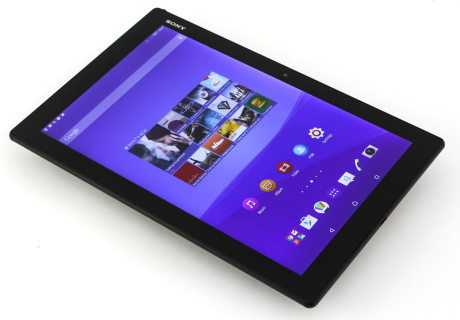 Sony Xperia Z4 Tablet displayON2