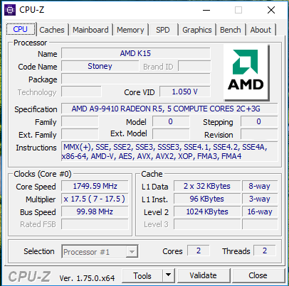 amd a9 9410 benchmarks reveal that it's manufacturer's