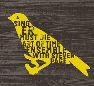 "Steven Page (with the Art of Time Ensemble)'s ""A Singer Must Die"" (2010)"