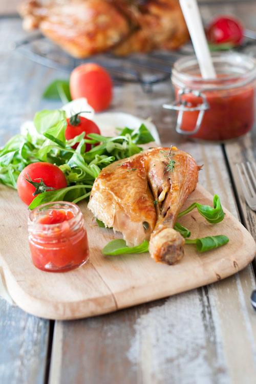 poulet roti-chutney abricot&prune4