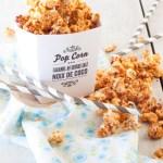 pop corn caramel beurre salé-noix de coco