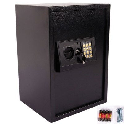 Large Electronic Safe Lock Box Security Digital Keypad Gun Jewelry Money Home | eBay