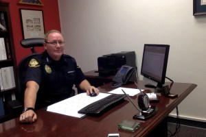 Saddleback Colleges' Chief of Police, Christopher Wilkinson, discusses new parking options.