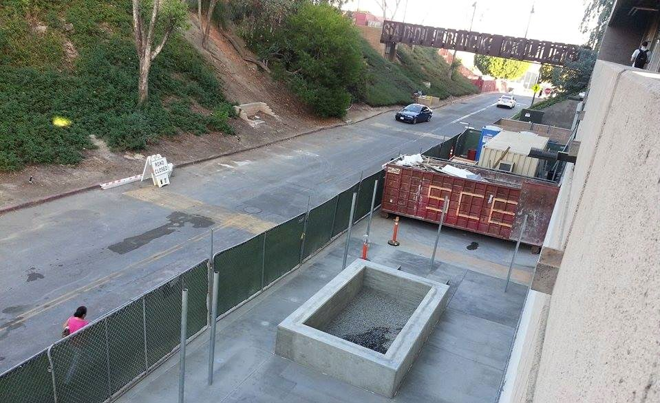 Library Road will be closed tommorow between 7 a.m to noon. (Photograph/Anibal Santos)
