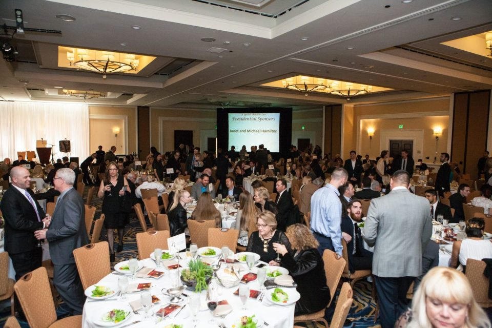 Attendees of The Saddleback Foundation's 16th Gala sit down Saturday night as they prepare to hear from the events guest speakers. (Photo courtesy of ValWestoverPhotography.com)