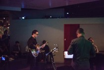 photo of Larry Koonse, Brian Walsh, Josh Nelson at Discoveries