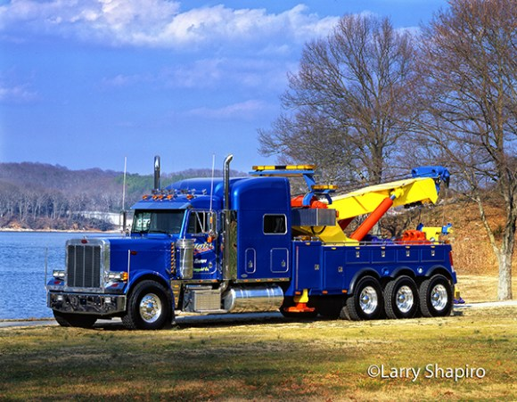 Tri Axle Roll Back : Peterbilt heavy wrecker tow truck archives larry shapiro
