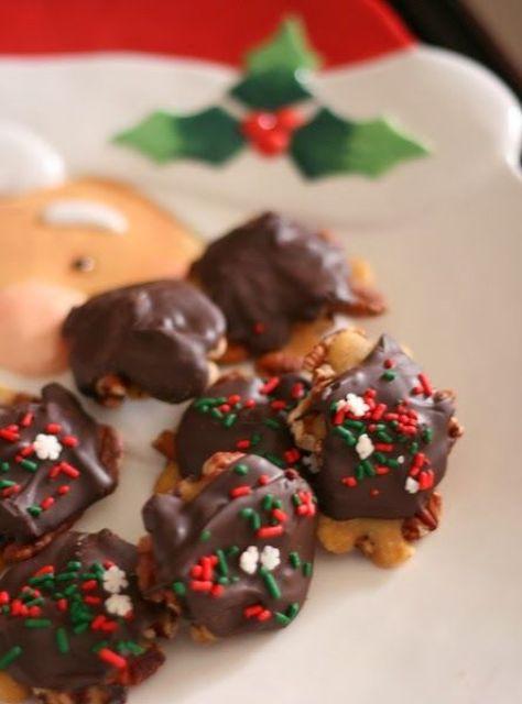 Receta-de-Dulces-de-pecan,-caramelo-y-chocolate-(receta-de-caramelo)