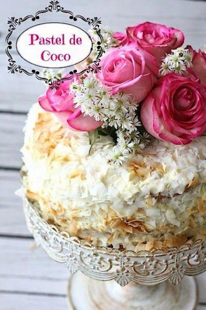pastel-de-coco