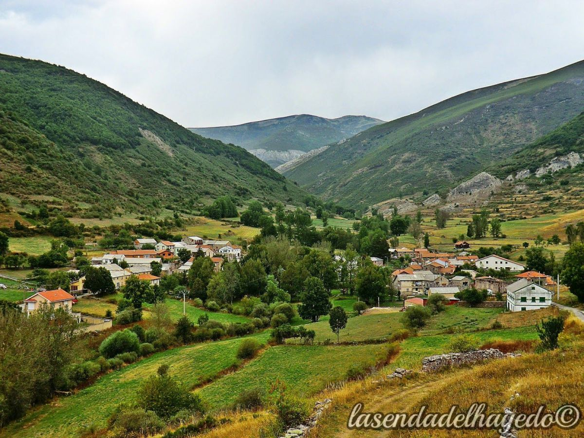 Canseco, un valle de la montaña leonesa