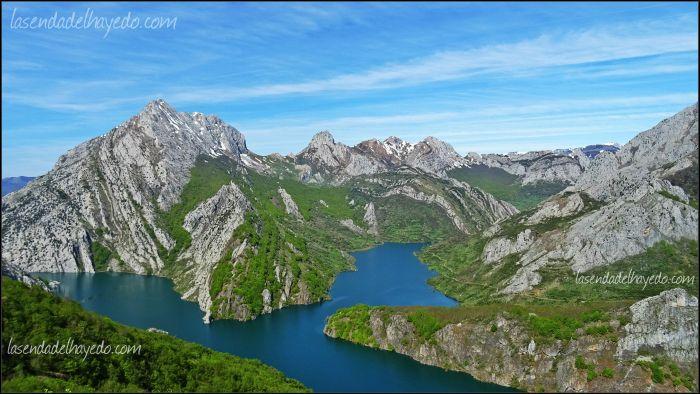 Valle de Anciles desde la Collada Bachende