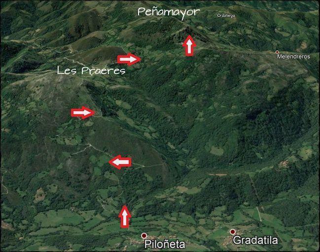 mapa pñema