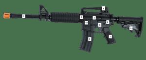 irM4 Lasertag Gewehr