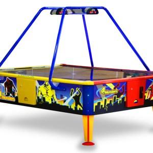 """Airhockey Tisch """"4 Monsters"""" für bis zu 4 Spieler zeitgleich. Groß und Imposant für mehr Spielspaß."""