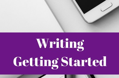 Writing – Getting Started