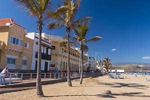 The Playa Grande zone of Las Canteras beach
