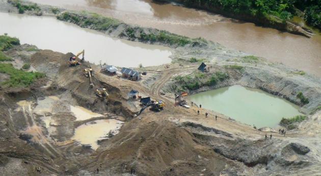 Minería ilegal FARC. Foto: semana.com