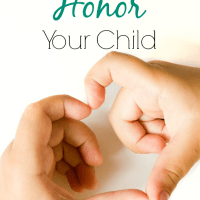 8 Ways To Honor Your Child