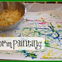 Worm Painting