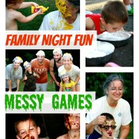 Family Fun: Messy Games!
