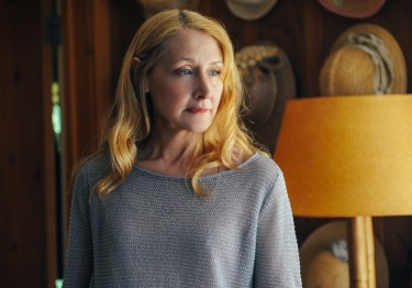 Matriarch Celia Green (Patricia Clarkson) in LAST WEEKEND.