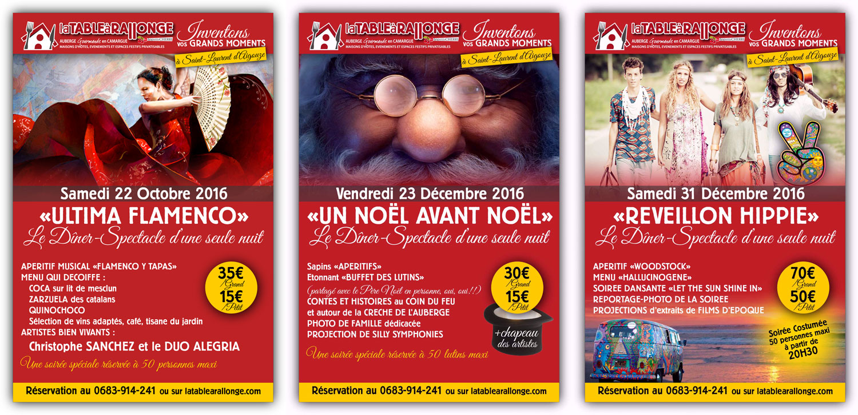 Soirées festives, diners spectacles en Camargue, réveillons 2016 2017 en Camargue