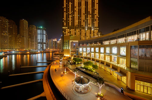Special offer from The Address Dubai Marina hotel