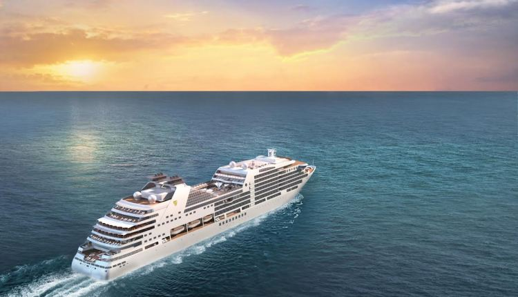 Seabourn reveals exterior of newest ship