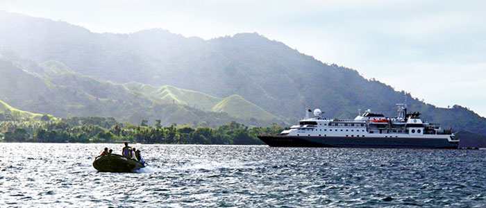 Silversea offers guests a once-in-a-lifetime experience with free flights to the Kimberley