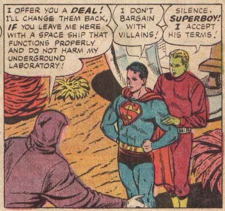 In addition to being a total hunk, Brainiac 5 is one of the few people that can successfully throw shade at Superboy.