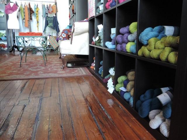 HIdden River Yarns store