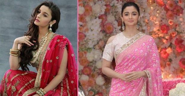 Beautify your look with saree like Bollywood beauty Alia Bhatt