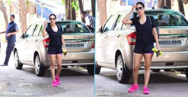 Malaika Arora Looks Stunning While Heading For Her Pilates Class In All Black Look
