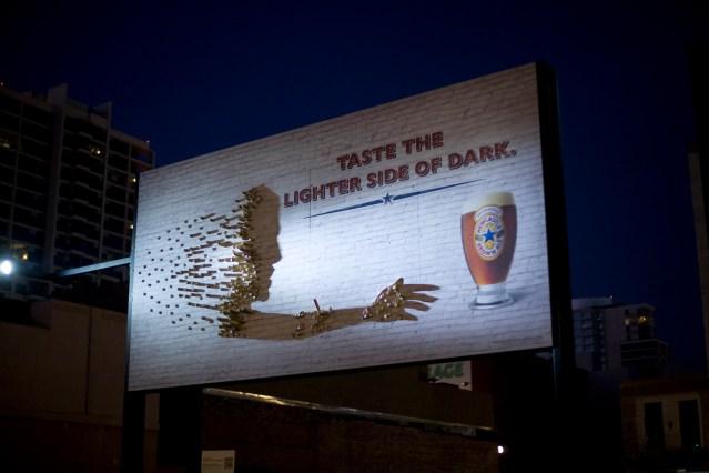 Newcastle Shadow Billboard