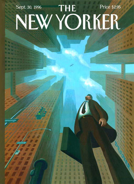 Drooker New Yorker cover