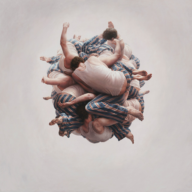 Surreal photo-realistic paintings by Jeremy Geddes