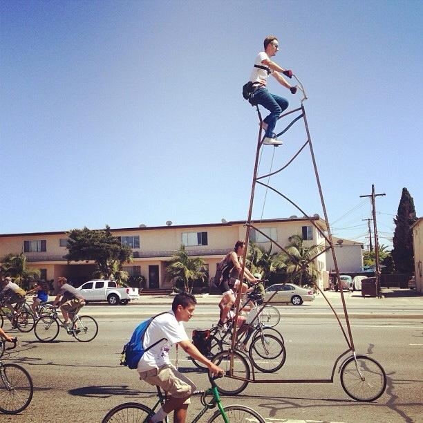 Stoopid Tall bike by Richie Trimble