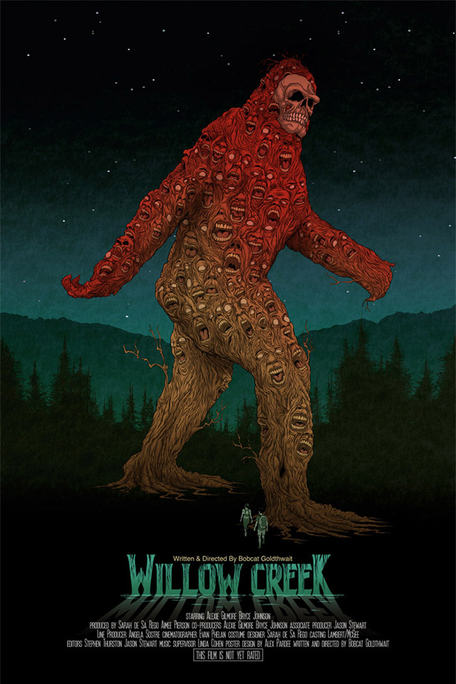 Willow Creek Poster by Alex Pardee