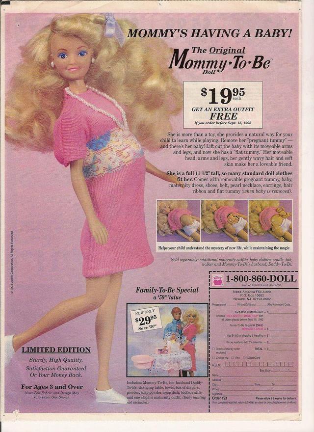 doll ad