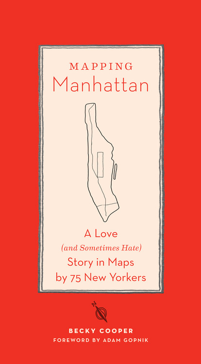 Mapping Manhattan by Rebecca Cooper
