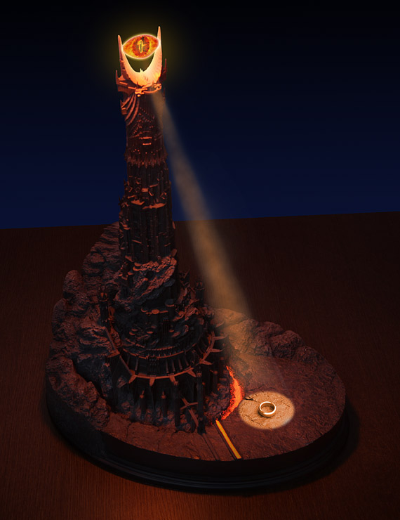Eye of Sauron Desk Lamp
